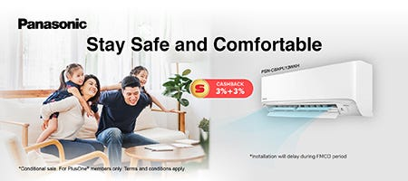 Panasonic Stay Safe and Comfortable