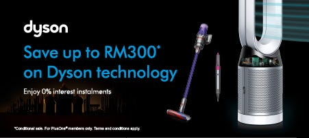 Save up RM300 on Dyson Technology