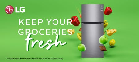 LG Keep Your Groceries Fresh