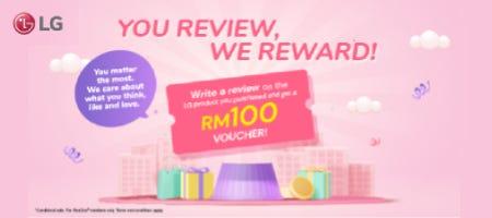 LG You Review We Reward