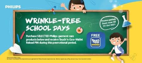 Philips Wrinkle Free School Days