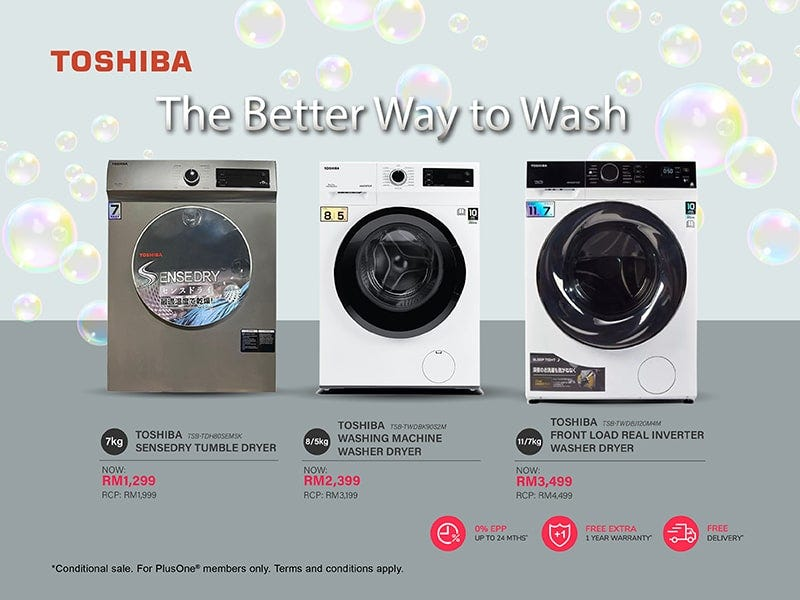 Toshiba Washing Machine Promotion