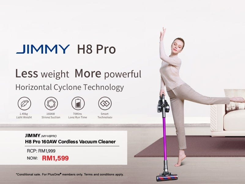 Jimmy Promo | Less Weight, More Powerful