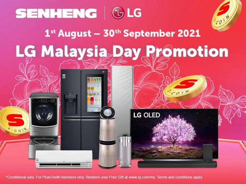 LG Merdeka Promotion