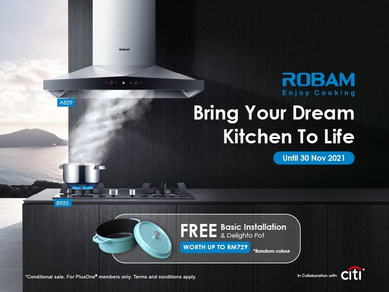 ROBAM Bring Your Dream Kitchen to Life