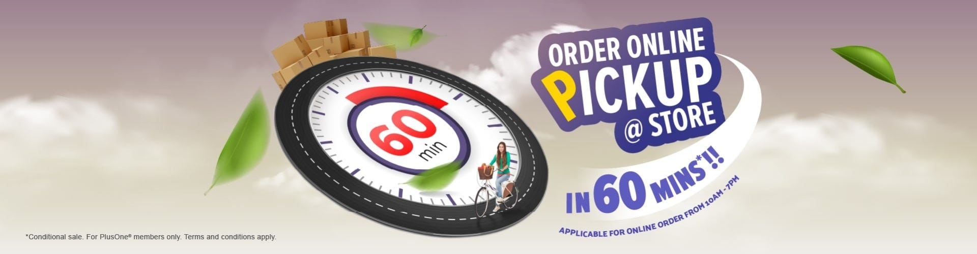 Order Now Collect Later