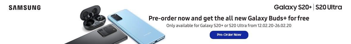 Samsung Galaxy S20 Pre-order