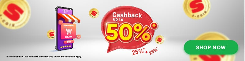 S-Coin up to 50% cashback