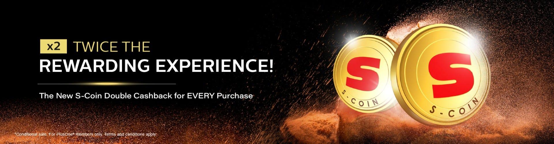 S-Coin Double Rewards