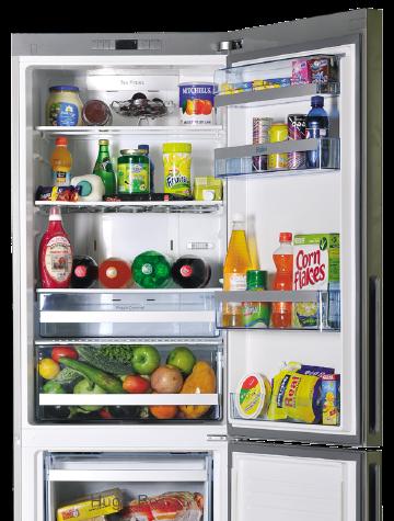 fridge and aircorn