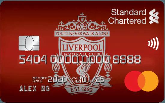 Liverpool FC Cashback Credit Card