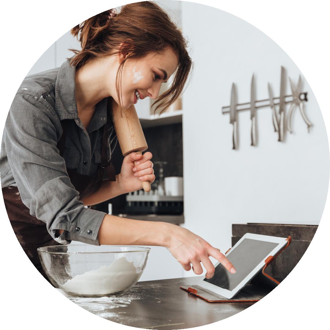 Icon 01 - Cake Baking Lesson