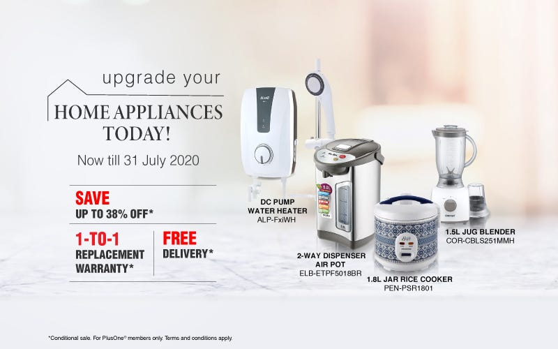 Upgrade Your Home Appliances Today