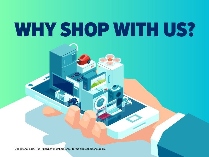 Why Shop With Us Banner