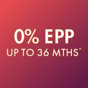0% EPP up to 36 months