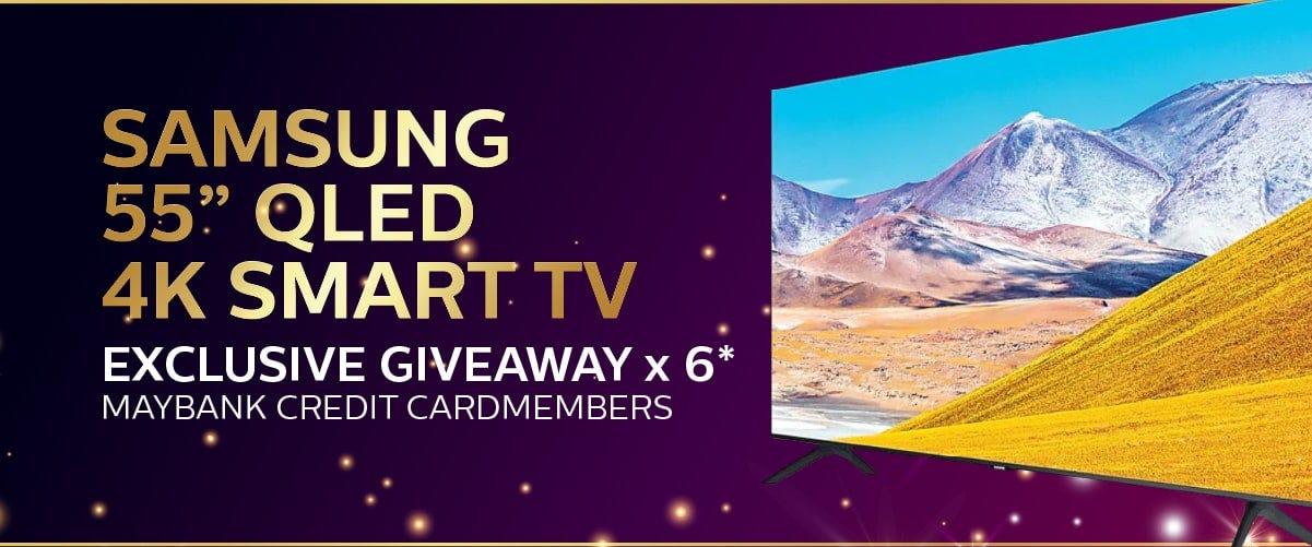 Maybank Samsung QLED TV