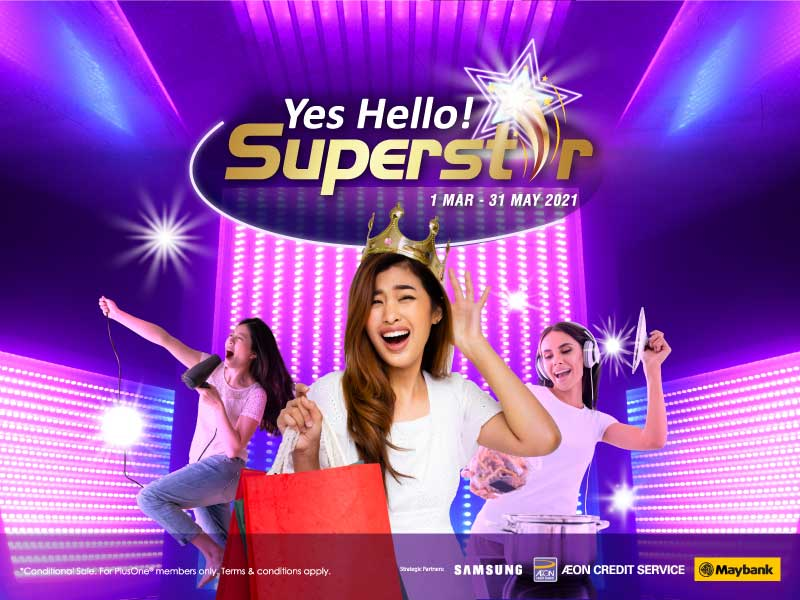 Yes! Hello SuperStar