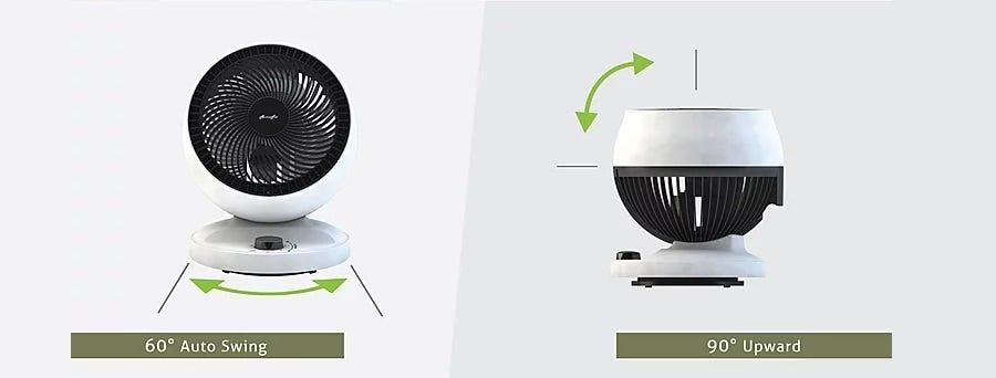 Alpha Motto Desk Fan 60