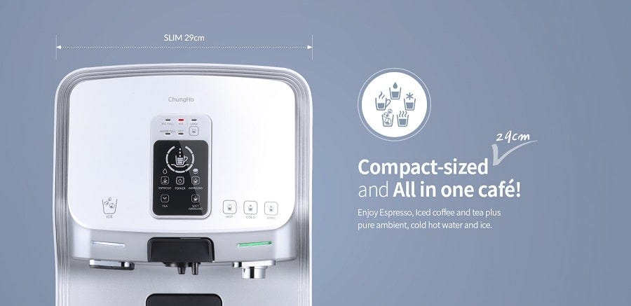 ChungHo Whi Caffe Water PurifierEDGE [Available Only In Klang Valley Area]