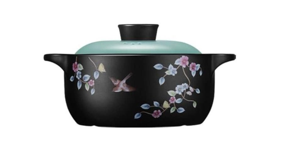 Color King 6000ML (Ideal for More than 8 Pax)100% Ceramic Pot ShangChu Series Tiffany Blue