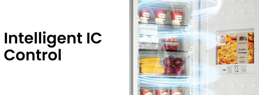 Haier 168L Upright Freezer Refrigerator HAI-BD168WL