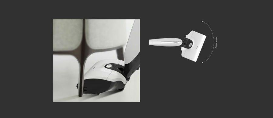 Hizero Bionic F801 Cordless Self Cleaning Mop (White)