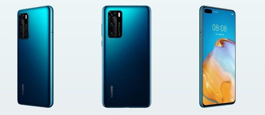 Huawei P40 Deep Sea Blue