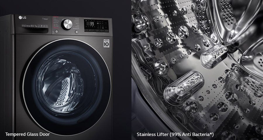 LG New Washer FV1450H3V width=