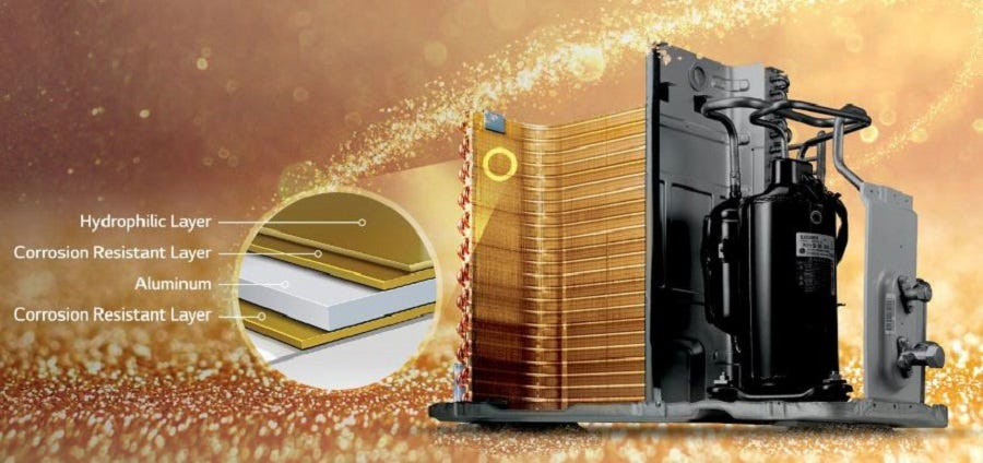 LG 1.5HP Dual Inverter Deluxe Air Conditioner S3-Q12JA3WA