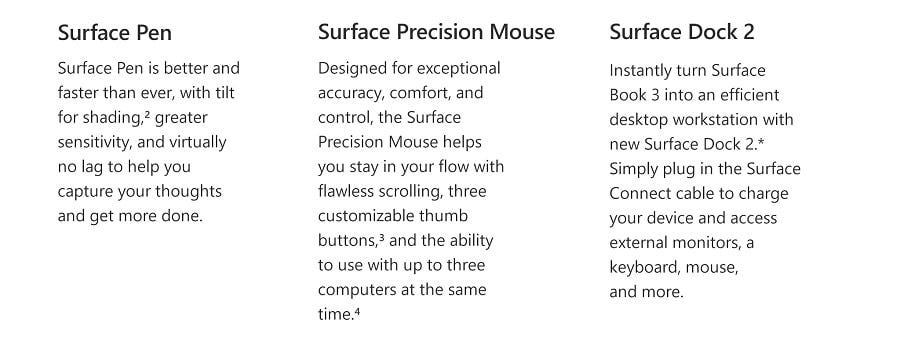 Microsoft Surface Book 3 13-inch i5/8GB/256GB [ETA: 23 June 2020 onward]