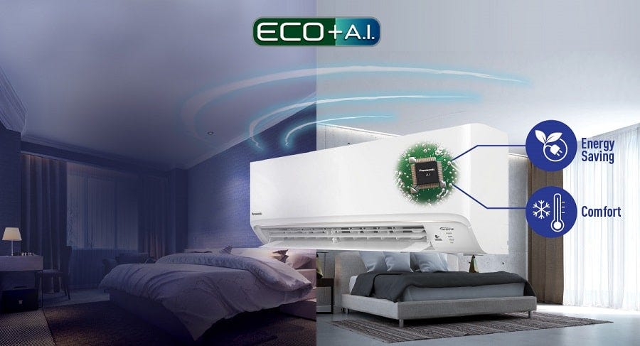 Panasonic 1.5HP X-Deluxe R32 Aero Series Air Conditioner CS-XPU13WKH-1 (CU-XPU13WKH-1)