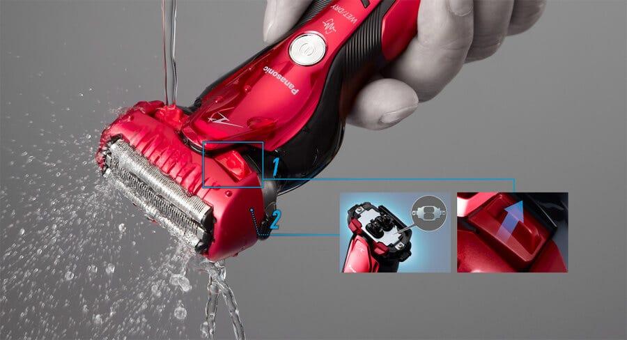 Panasonic 3-Blade Lamdash Electric Shaver with Swing Head ES-BST6QR751 (Wet/Dry)