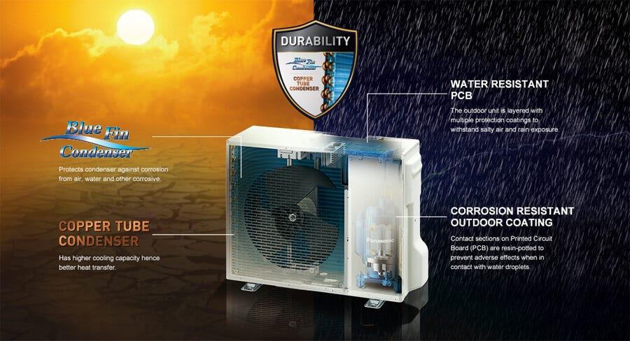 Panasonic CSU18VKH 2.0hp Premium Inverter Air Conditioner