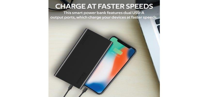 Promate 20000mAh Smart Charging Power Bank PRO-6959144046600