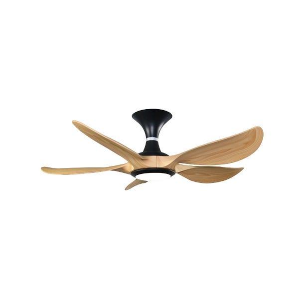 Rubine Raffica 45-inch Decorative Ceiling Fan (Pine Wood) RAFFICA45-5BL-PW