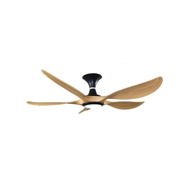 Rubine Raffica 56-inch Decorative Ceiling Fan (Pine Wood) RAFFICA56-5BL-PW