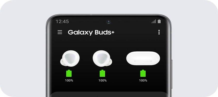 Samsung Galaxy Buds+ SAM-SM-R175NZKAXME Black