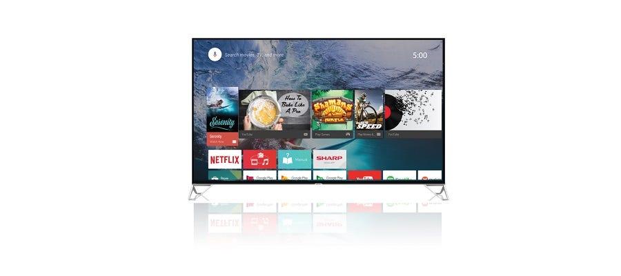 Sharp 50-Inch 4K UHD TV 4TC50BK1X width=