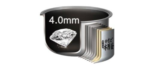 4.0mm Non-Stick Inner Pot