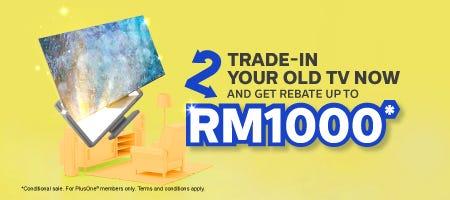 TV Trade in Rebate