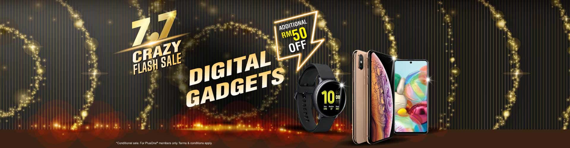 7.7 digital gadgets
