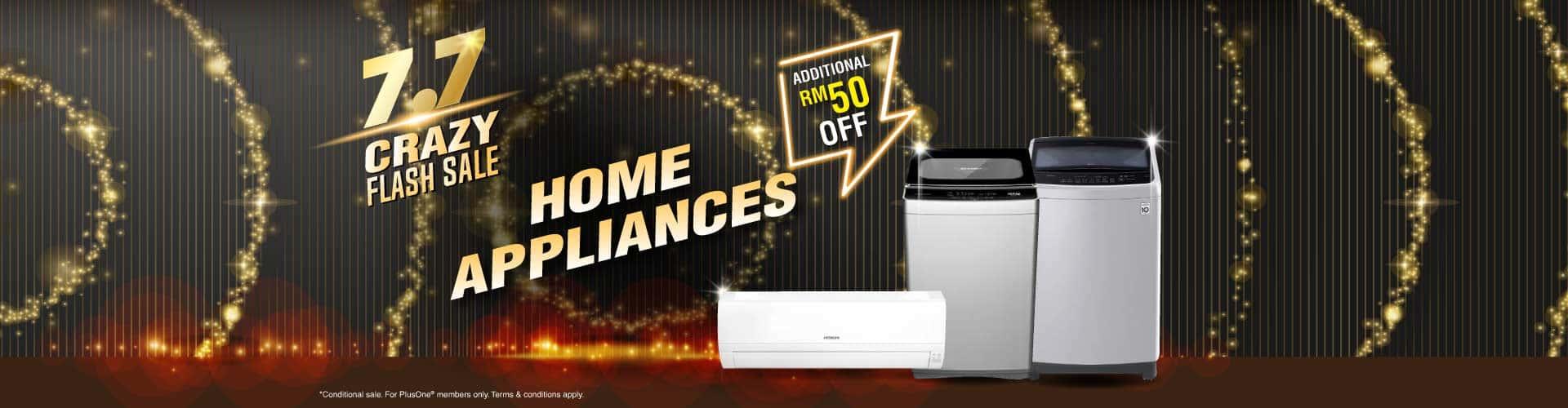 7.7 home appliances