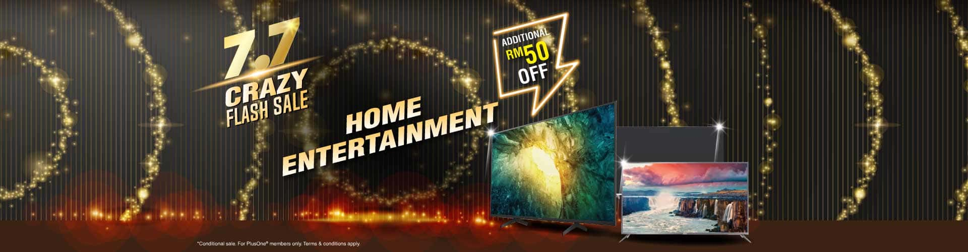 7.7 home entertainment