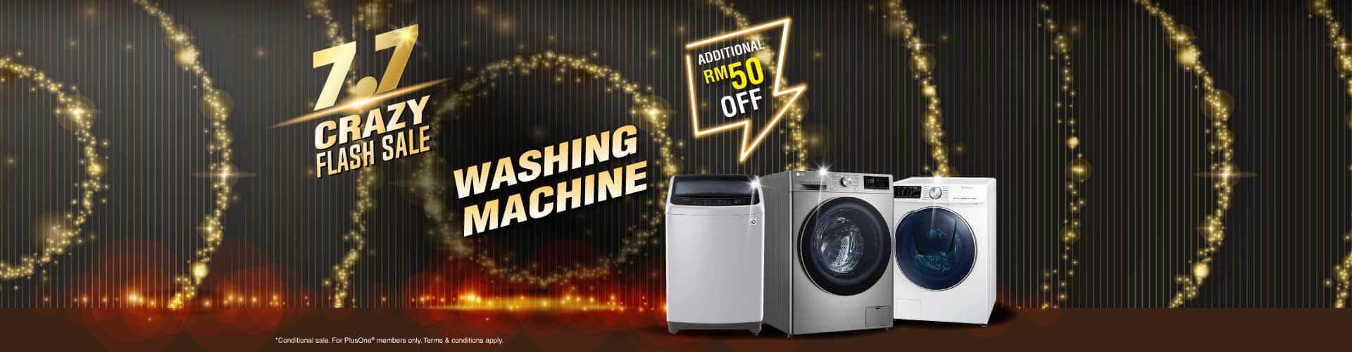 7.7 washing machine