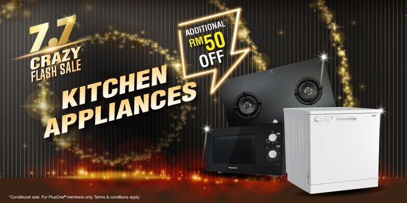 7.7 kitchen appliances