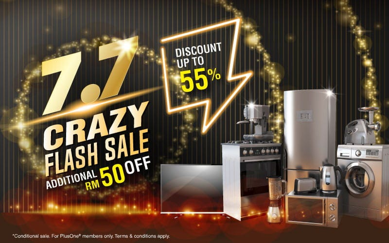 7.7 flash sales