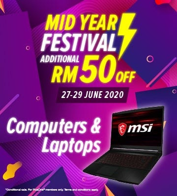 Computers and Laptop Banner
