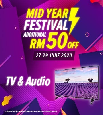TV and Audio Banner