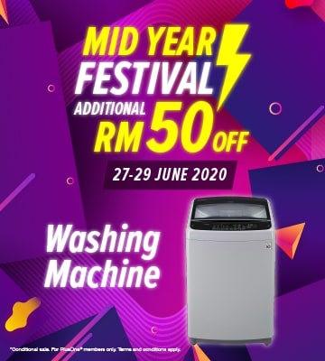 Washer Machines Banner