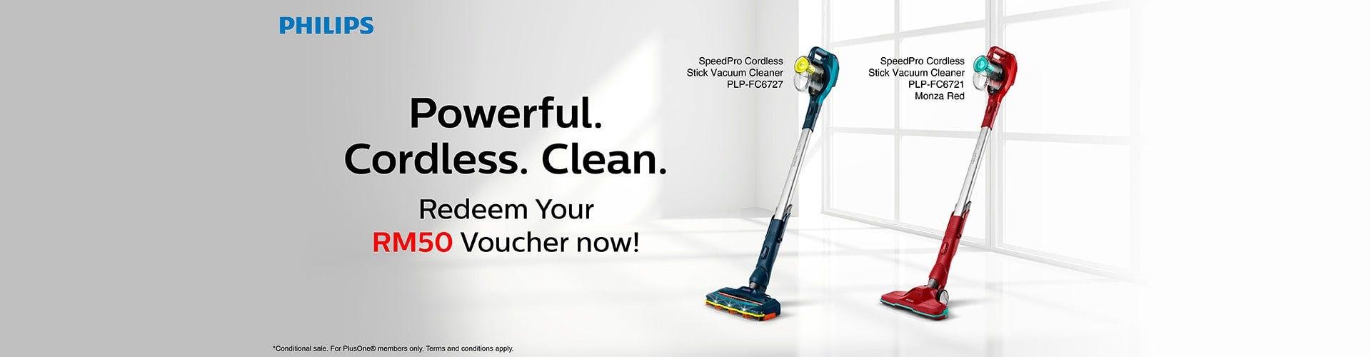 Philips Stick Vacuum Promo